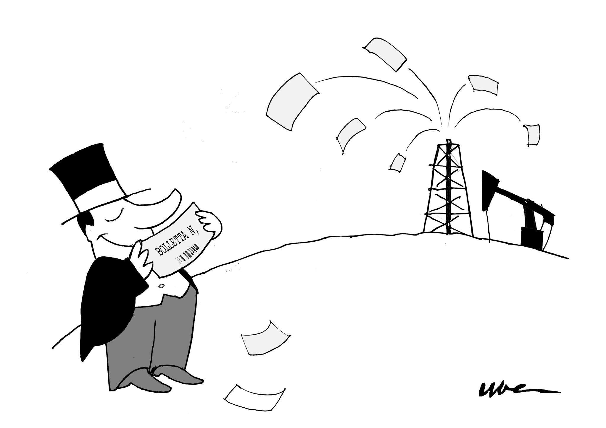 La vignetta di Uber